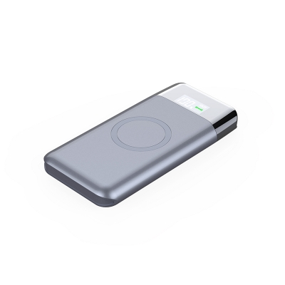 10,000mAh Qi Wireless Power Bank with Lightning input